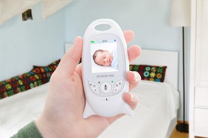 Babyphone im Einsatz