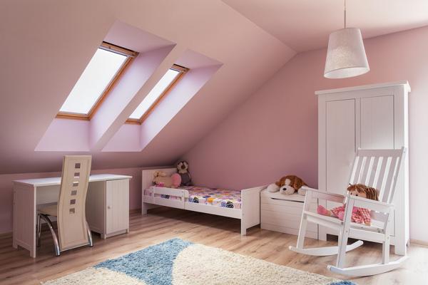 Dachboden kindgerecht ausbauen